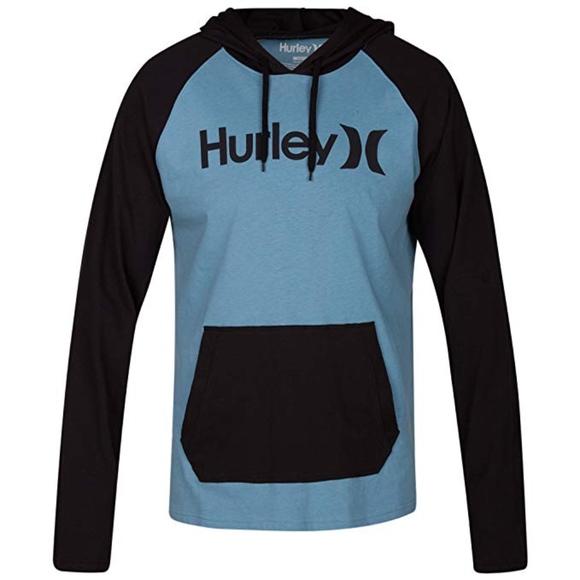 94c84ee5414c Hurley One   Only Raglan Jersey Men s Hoodie